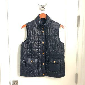 Tory Burch Colin Quilted Utility Vest